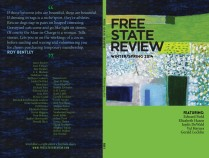 Front and back cover design for Free State Review