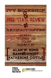 Event poster for Free State Review